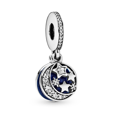 Moon & Blue Sky Dangle Charm