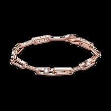Link Chain & Stones Bracelet