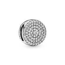 Pandora Reflexions Round Pavé Clip Charm