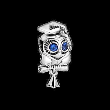 Wise Owl Graduation Charm