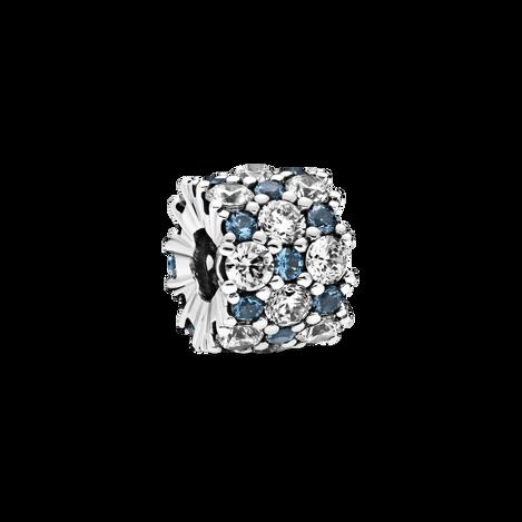 Blue & Clear Sparkle Charm