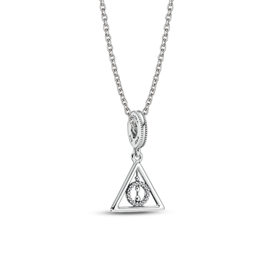 Harry Potter Deathly Hallows Necklace Set