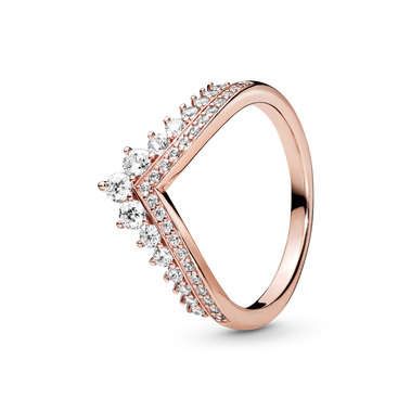 Pandora Rose Princess Wishbone Ring