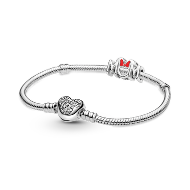 Disney Mum Bracelet and Charm Set