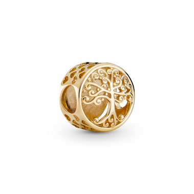 Openwork Family Roots Charm