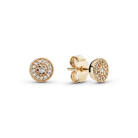 Elegant Sparkle Stud Earrings