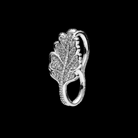 Oak Leaf Double Ring