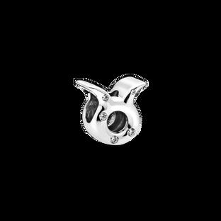 Sparkling Taurus Zodiac Charm