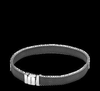 Pandora Reflexions Oxidised Mesh Bracelet