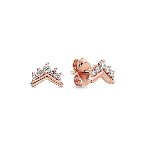 Pandora Rose Tiara Wishbone Stud Earrings