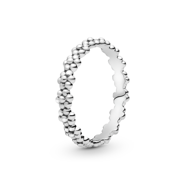 Classic Daisy Flower Band Ring