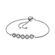 Round Sparkle Slider Bracelet