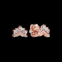 Pandora Rose Tiara Wishbone Stud Earrings