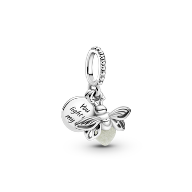 Glow-in-the-dark Firefly Dangle Charm