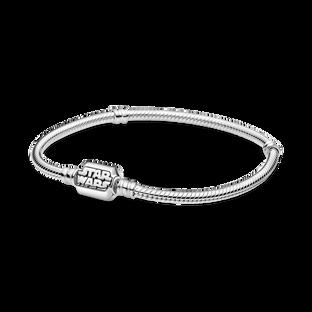 Pandora Moments Star Wars Snake Chain Clasp Bracelet