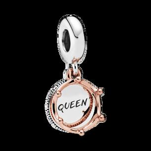 Pandora Rose Regal Queen Crown Hanging Charm