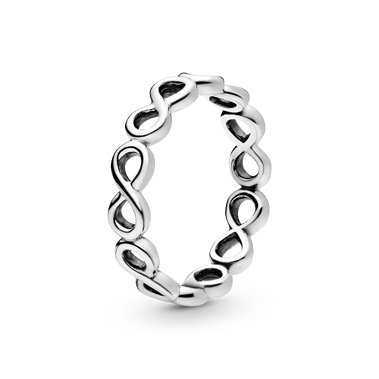 Simple Infinity Band Ring