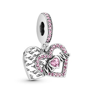 Heart & Mum Dangle Charm