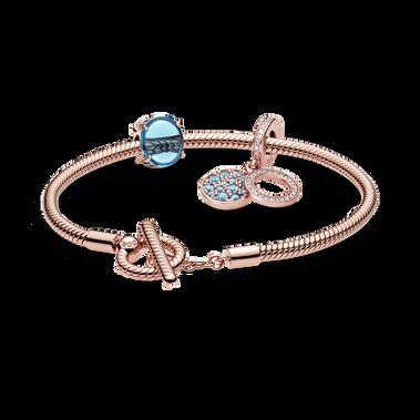 Cool Hues Bracelet and Charm Set