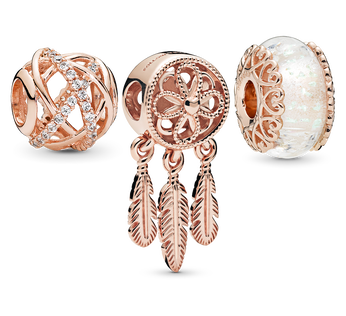Pandora Rose Sparkling Dream Catcher Charm Pack