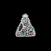 Glitter Christmas Tree Charm