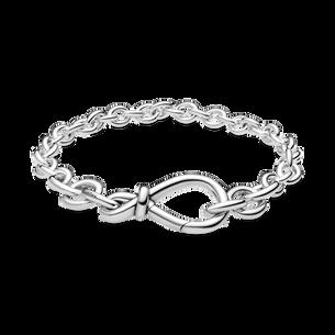 Chunky Infinity Knot Chain Bracelet