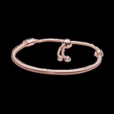 Pandora Moments Snake Chain Slider Bracelet