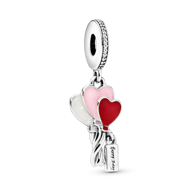 Happy Birthday Balloon Dangle Charm