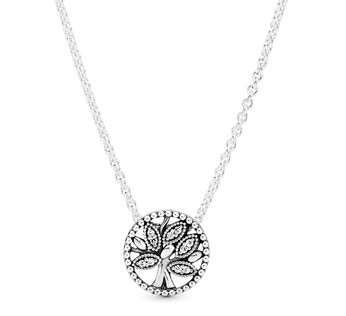 Sparkling Family Tree Necklace
