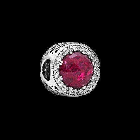 Sparkling Cerise Pink Charm