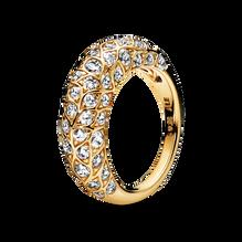 Pandora Shine Sparkling Pattern Ring