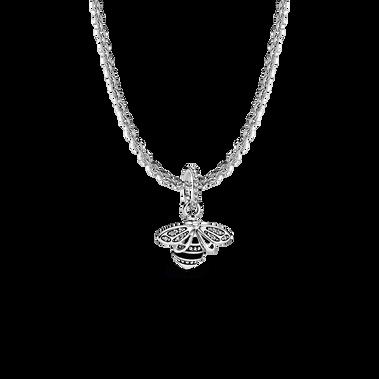 Sparkling Queen Bee Necklace Set