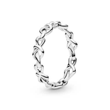 Knotted Hearts Ring
