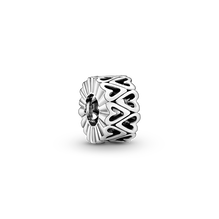 Openwork Freehand Heart Spacer Charm