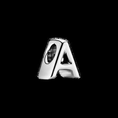 Letter A Alphabet Charm