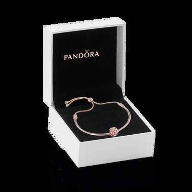Pandora Rose Infinity Bracelet & Charm Gift Set