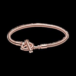 Pandora Moments T-Bar Snake Chain Bracelet