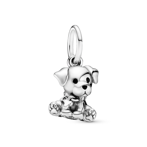Labrador Puppy Dog Dangle Charm