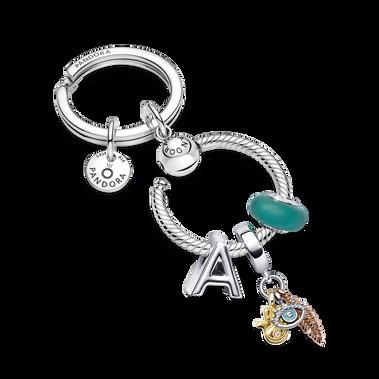 Symbols Charm Key Ring Set