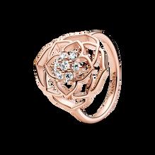 Rose Petals Statement Ring