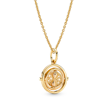 Harry Potter Time Turner Necklace Set
