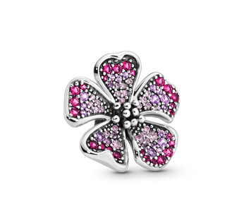 Big Peach Blossom Flower Charm