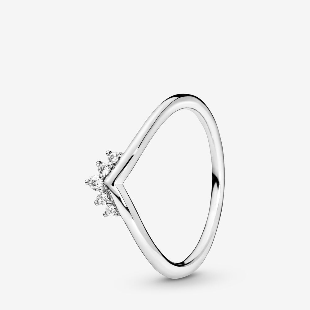 Tiara Wishbone Ring Pandora Nz