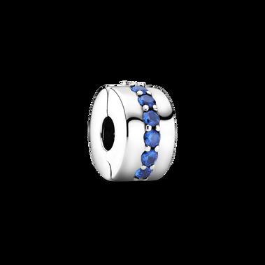 Blue Sparkle Clip