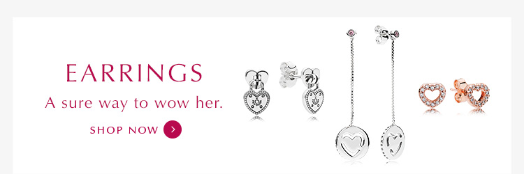 Shop PANDORA Earrings