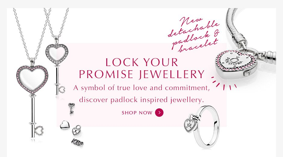 Shop PANDORA Lock collection