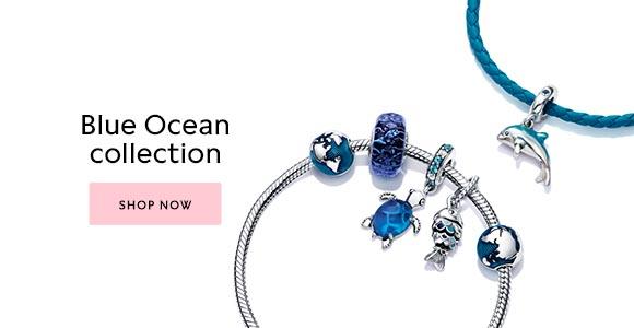 Shop the Pandora Blue Ocean collection