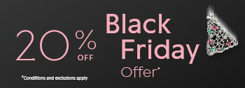 20% off Black Friday offer. Conditions apply.