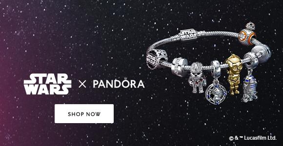 Shop Star Wars x Pandora Collection