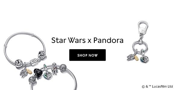 Star Wars x Pandora collection